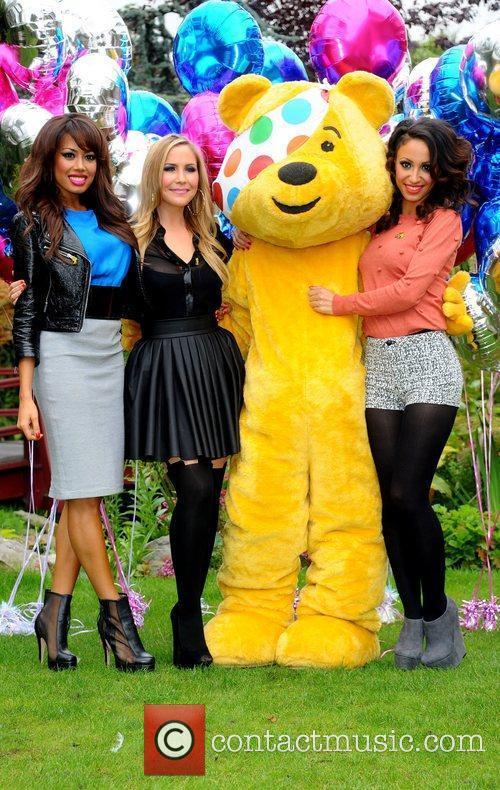 Jade Ewen, Amelle Berrabah, Heidi Range and Sugababes 1
