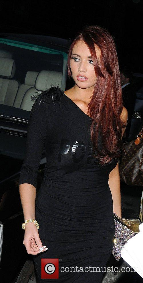 Amy Childs at Ghost the Musical, in aid...