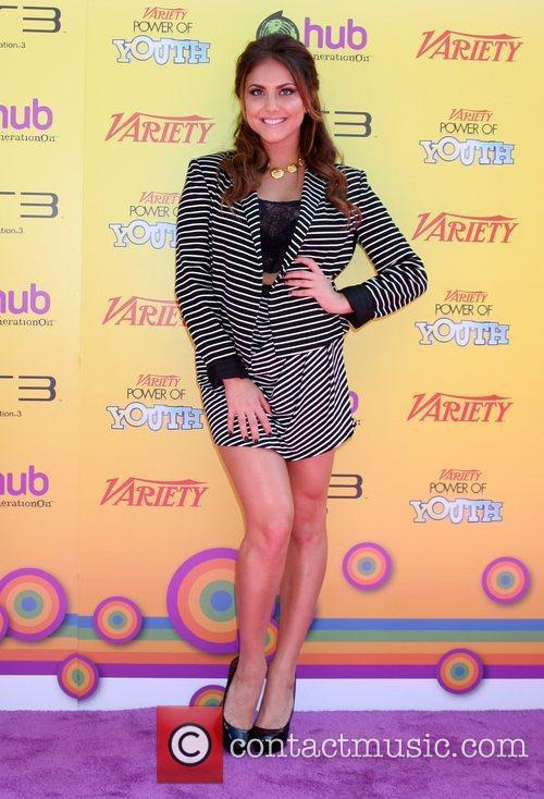 Cassie Scerbo Variety's 5th Annual Power of Youth...