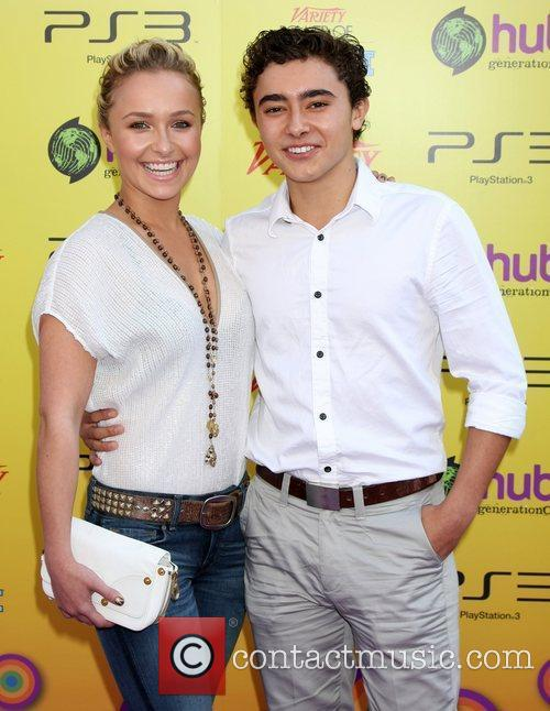 Hayden Panettiere and Jansen Panettiere
