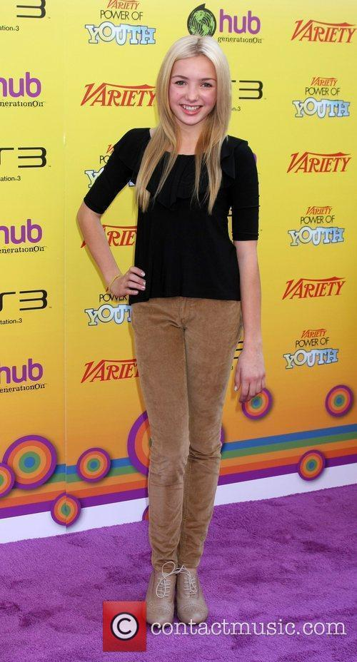 Peyton List Variety's 5th Annual Power of Youth...