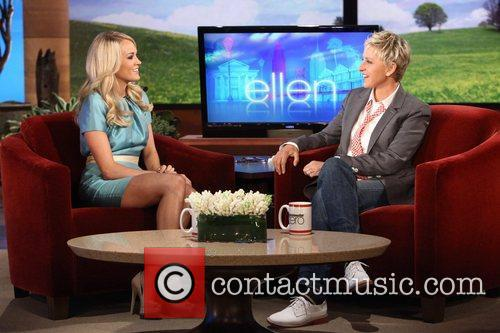 Carrie Underwood appears on NBC' s 'The Ellen...