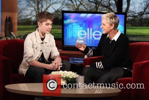 Appears on NBC's 'The Ellen Degeneres Show' showing...