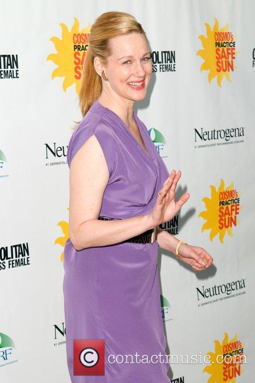 Laura Linney Cosmopolitan Magazine's Practice Safe Sun Awards...