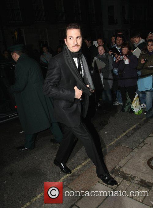 Darren Aronofsky arriving at Automat restaurant to attend...