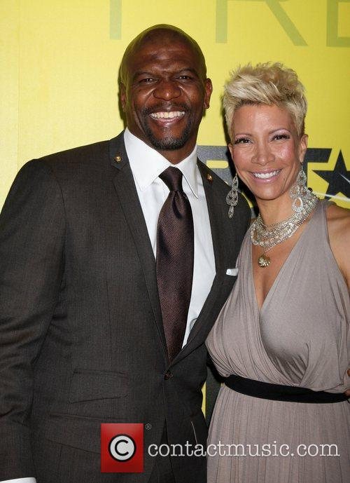 Terry Crews and Rebecca Crews BET networks chairman...