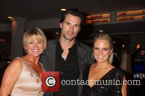 Judi Evans, Austin Peck, Terri Conn arriving at...