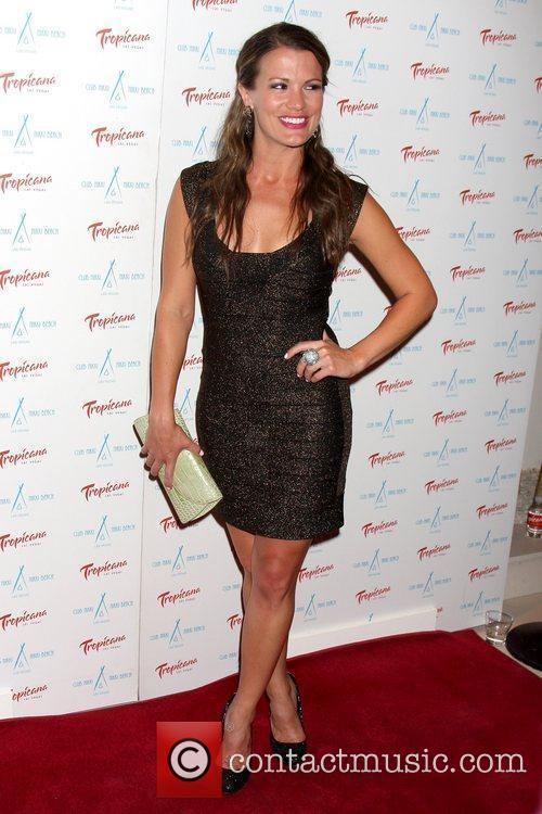 Melissa Claire Egan arriving at the Innovative Artists...