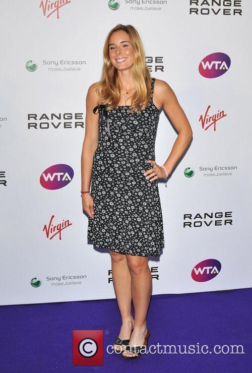 Alize Cornet Pre-Wimbledon Party held at The Roof...