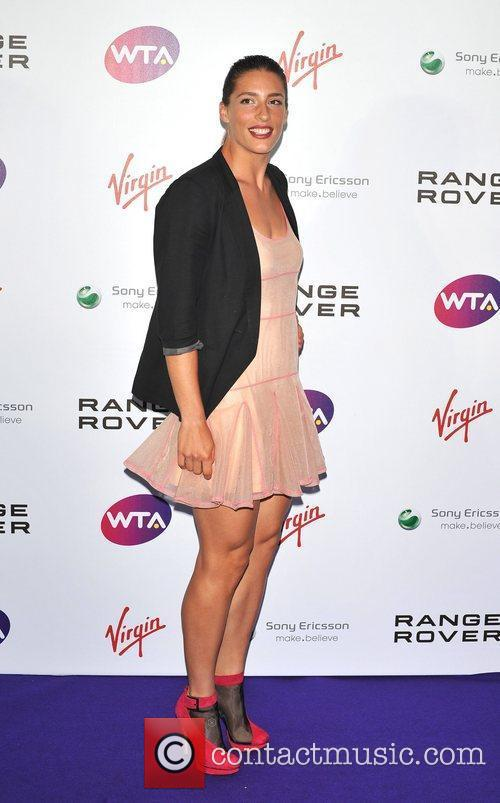 Andrea Petkovic Pre-Wimbledon Party held at The Roof...