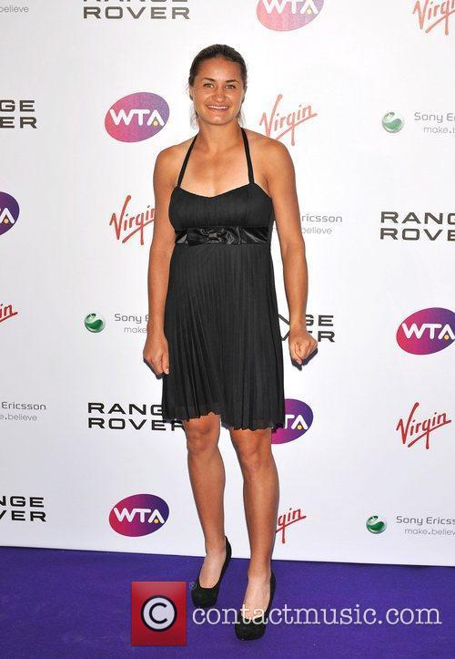 Monica Niculescu Pre-Wimbledon Party held at The Roof...