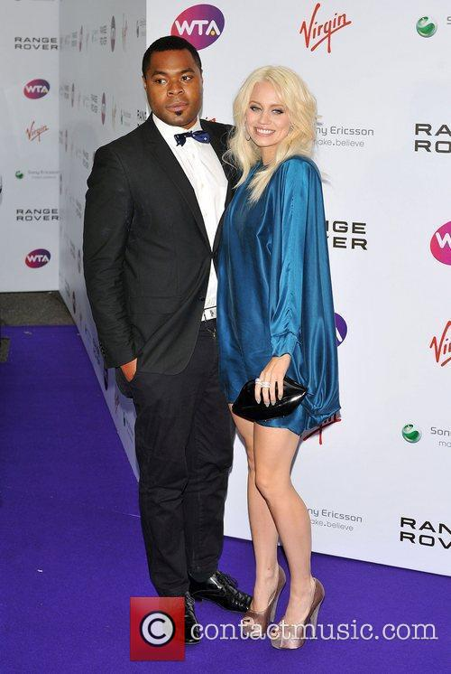 Kimberly Wyatt and guest Pre-Wimbledon Party held at...