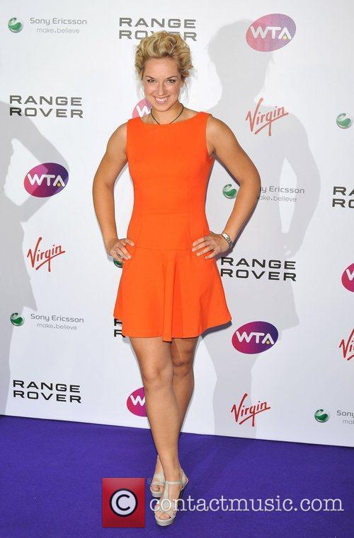 Sabine Lisicki Pre-Wimbledon Party held at The Roof...
