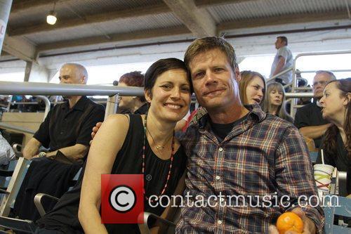 Joel Gretsch and wife Melanie Shatner The 21st...