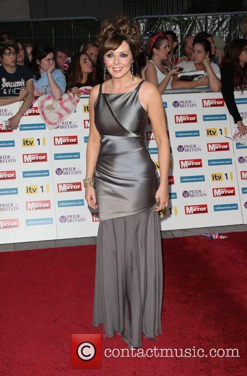 Carol Vorderman The Pride of Britain Awards 2011...