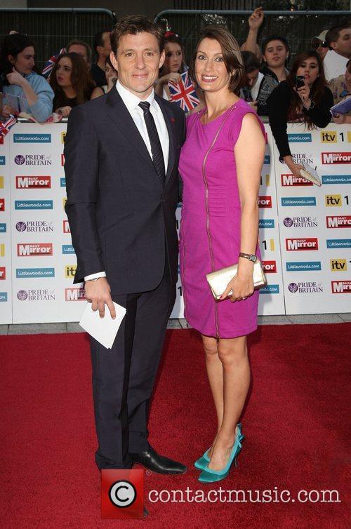Ben Shephard and girlfriend Annie Perks The Pride...