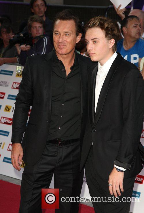 Martin Kemp with his son The Pride of...
