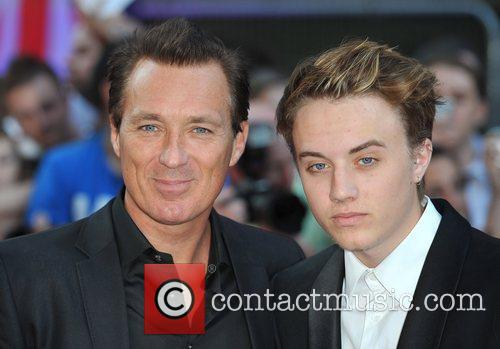 Martin Kemp and guest 2011 Pride of Britain...