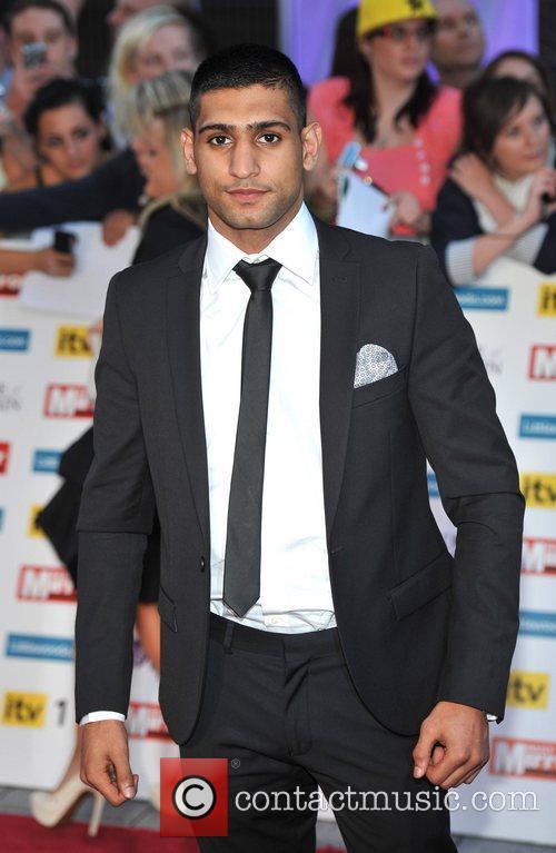 Amir Khan 2011 Pride of Britain Awards held...