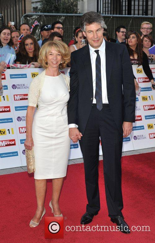 Helen Worth and guest 2011 Pride of Britain...