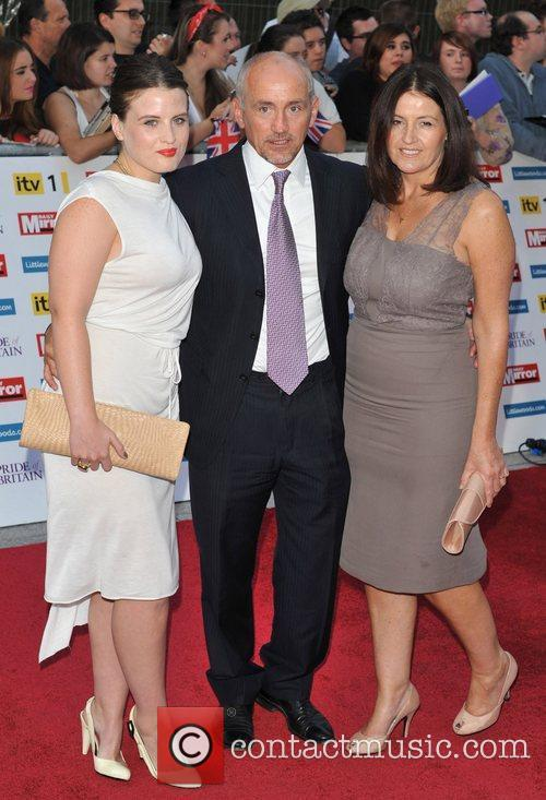 Barry McGuigan and family 2011 Pride of Britain...