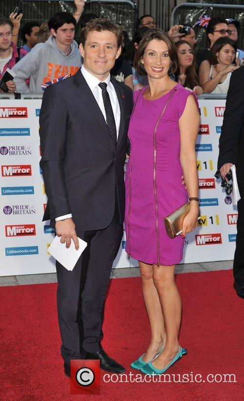 Ben Shephard and Annie Perks 2011 Pride of...