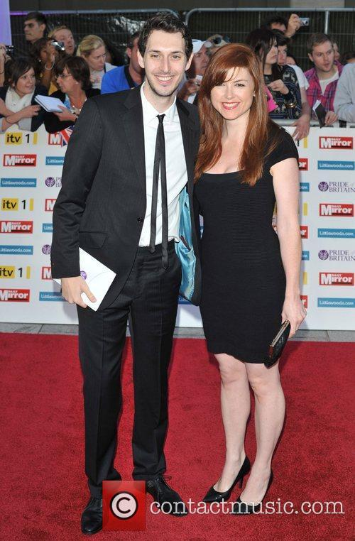 Blake Harrison and guest 2011 Pride of Britain...