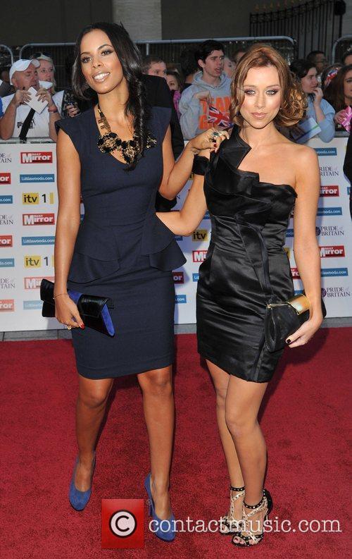 Una Healey and Rochelle Wiseman 2011 Pride of...