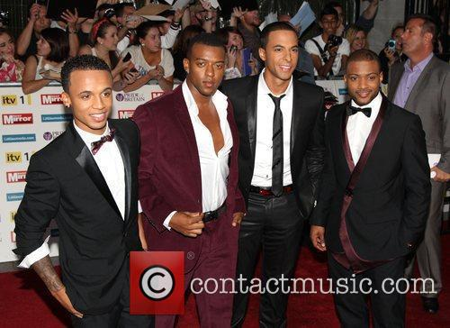 Aston Merrygold and Jonathan Gill