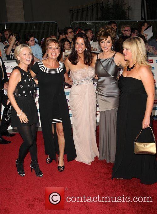 Lisa Maxwell, Andrea Mclean, Carol Vorderman, Denise Welch, Sally Lindsay