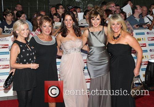 Lisa Maxwell, Andrea Mclean, Carol Vorderman, Denise Welch and Sally Lindsay 1