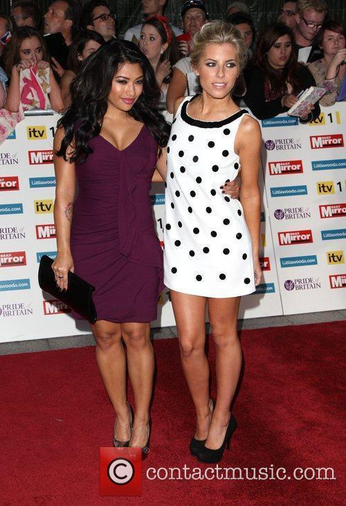 Vanessa White, Mollie King and The Saturdays 1