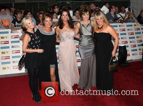 Lisa Maxwell, Andrea Mclean, Carol Vorderman, Denise Welch and Sally Lindsay 4