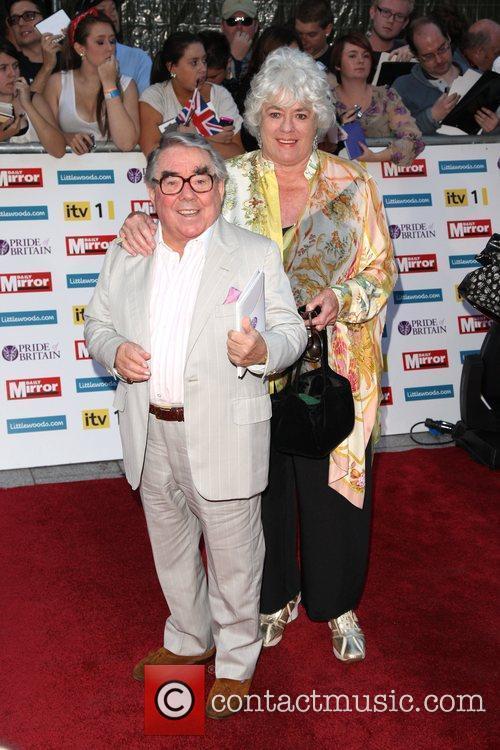 Ronnie Corbett and wife The Pride of Britain...