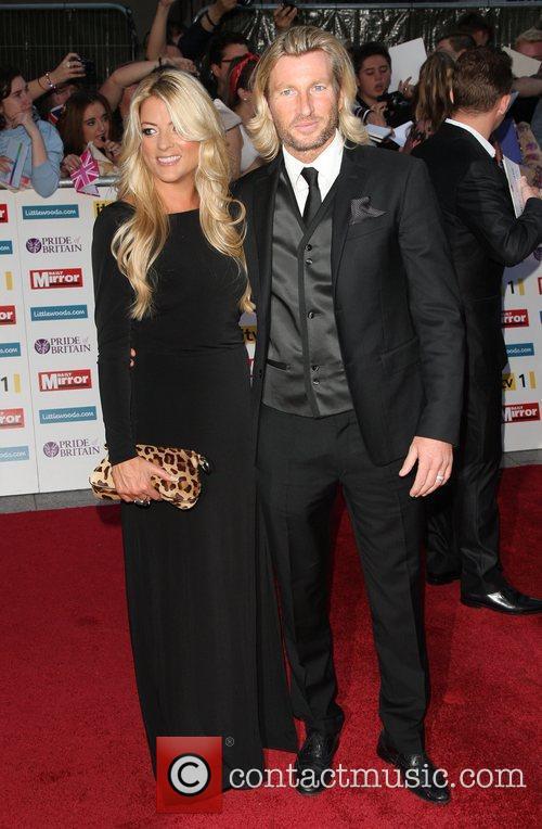 Robbie Savage and wife Sarah The Pride of...