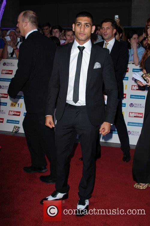 Amir Khan The Pride of Britain Awards 2011...