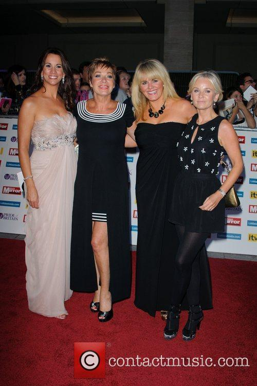 Andrea Mclean, Denise Welch, Lisa Maxwell, Sally Lindsay