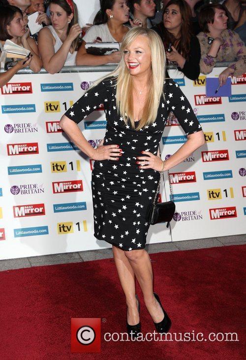 Emma Bunton The Pride of Britain Awards 2011...