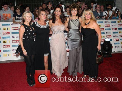 Lisa Maxwell, Andrea Mclean, Carol Vorderman, Denise Welch and Sally Lindsay 2
