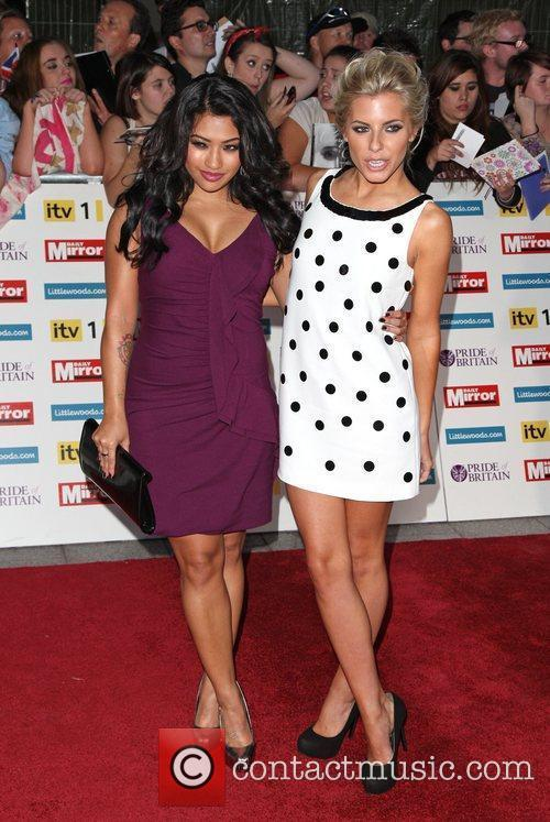 Vanessa White, Mollie King and The Saturdays 2
