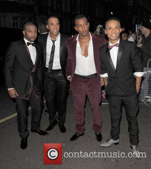 Jonathan JB Gill, Marvin Humes, Ortise Williams and...