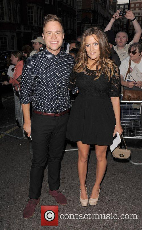 Olly Murs, Caroline Flack and Grosvenor House 2