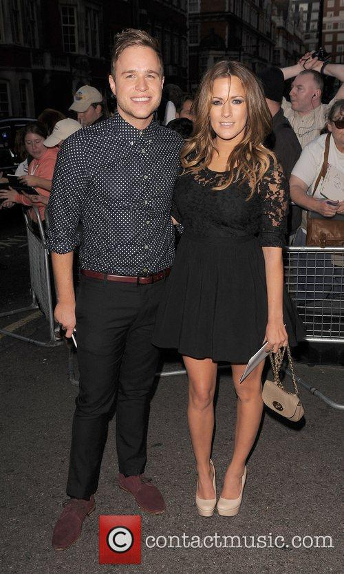 Olly Murs, Caroline Flack and Grosvenor House 1