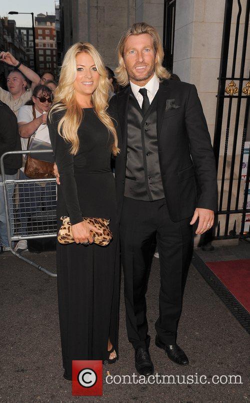 Robbie Savage 2011 Pride of Britain Awards held...