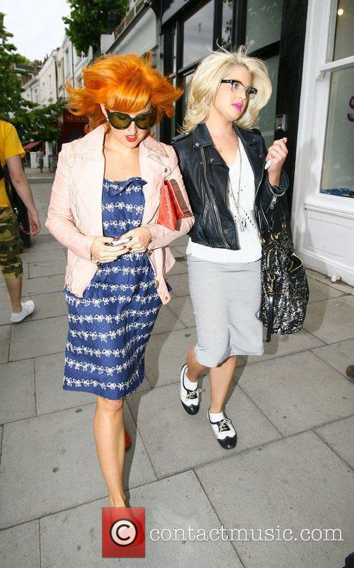 Kelly Osbourne out and about in Primrose Hill...