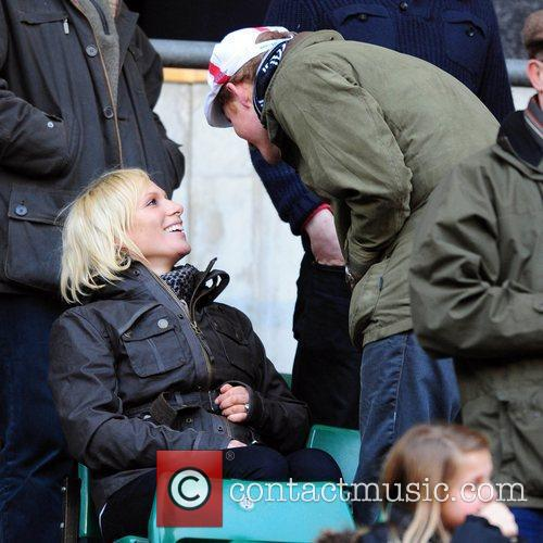 Prince Harry and Zara Phillips 3