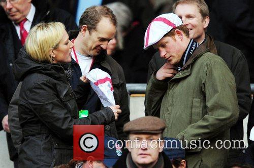 Prince Harry and Zara Phillips 4