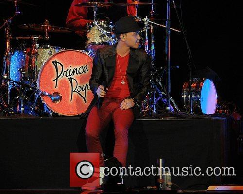 Prince Royce  performs during the 'Euphoria World...