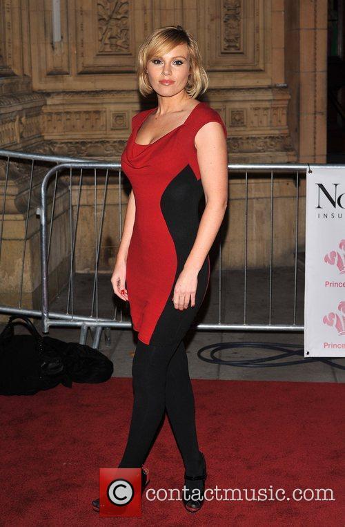 Michelle Dewberry Prince's Trust Rock Gala 2011 held...