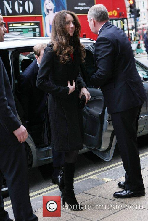 Kate Middleton, Prince Harry and Prince William 7